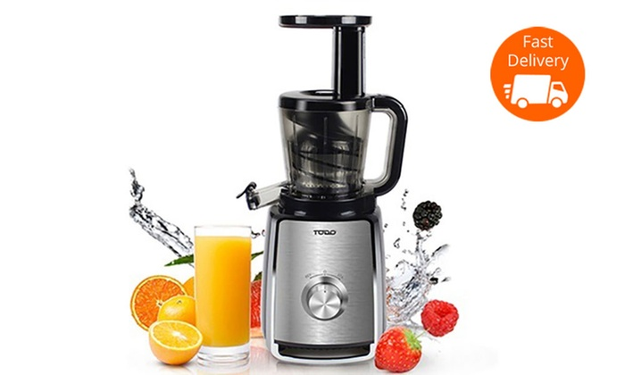 Todo Slow Juicer Review : TODO Cold Press Slow Juicer Groupon Goods