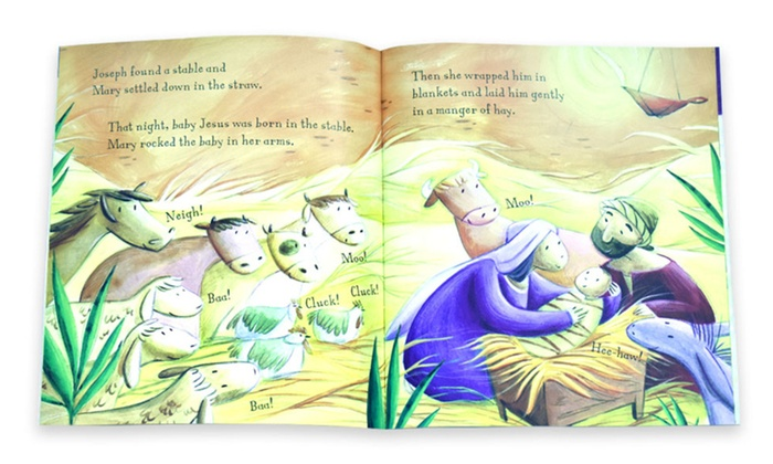 Up To 73% Off on My First Bible Stories Books Set   Groupon
