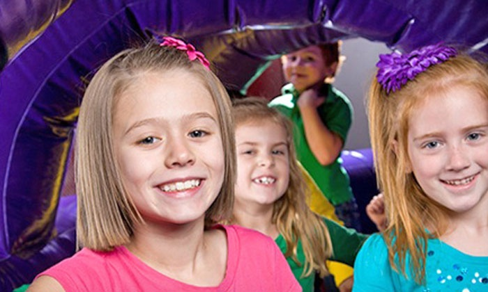 Bounce U - Fishers: Open-Bounce Passes, Pre-K & Play Sessions, or Private Birthday Party for Up to 15 Kids at Bounce U (Up to 56% Off)