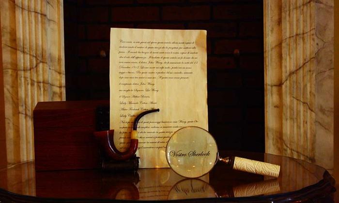 Asterios Legacy - Anguillara Sabazia: Escape Room Sherlock Holmes da 2 a 6 persone da Asterios Legacy (sconto fino a 59%)