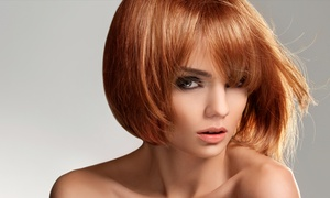 Twisted Scissors: Haircut and Deep Conditioning with Optional Color or Partial Highlights at Twisted Scissors (Up to 44% Off)