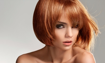 Haircut and Deep Conditioning with Optional Color or Partial Highlights at Twisted Scissors (Up to 44% Off)