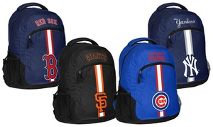 Forever Collectibles MLB Action Stripe Logo Backpack