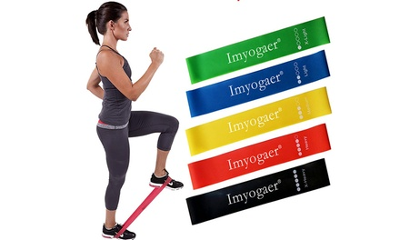 Resistance Sports Bands: Set of 5 $15 or Set of 10 $26.95