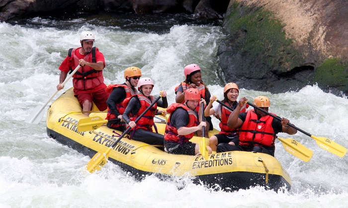 River Expeditions - Oak Hill: $84 for Two-Night Rafting and Camping Trip from River Expeditions ($140 Value)