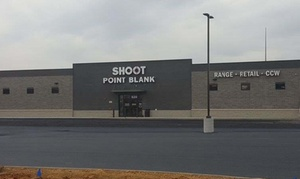 Up to 51% Off Gun Range Packages at Shoot Point Blank at Shoot Point Blank, plus 6.0% Cash Back from Ebates.