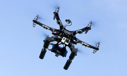 Grabación de 2, 4 u 8 horas con dron DJI Phantom 3 professional o DJI Inspire 2 desde 119,90 € con Desde El Aire