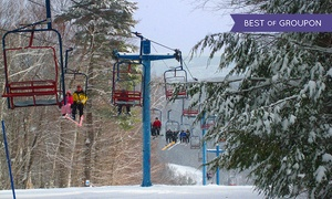 Blandford Ski Area: Skiing or Snowboarding Lift Tickets for Two or Up to Four People at Blandford Ski Area (Up to 72% Off)