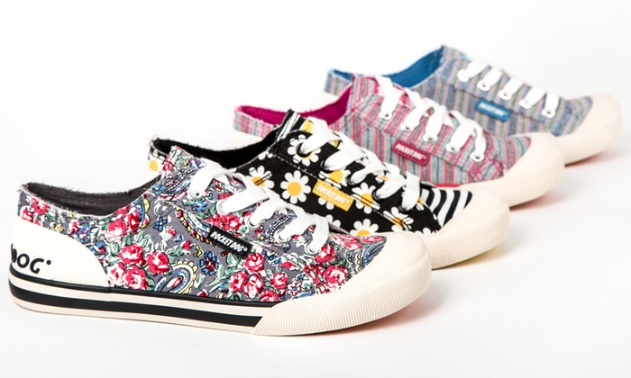 Groupon Goods Global GmbH: Women's Rocket Dog Jazzin Trainers in Choice of  Style for ...