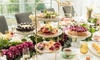 High Tea + Sparkling on Arrival