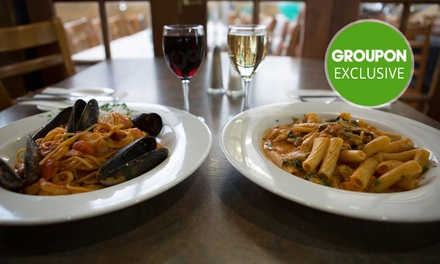 TwoCourse Italian Dinner with Wine $59, 4 $115 or 6 People $169 at Siena's Leederville Up to $240 Value