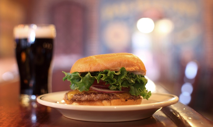 The Brown Boxer Pub & Grille - Countryside: $14 for $25 Worth of Pub Food and Drinks at The Brown Boxer Pub & Grille
