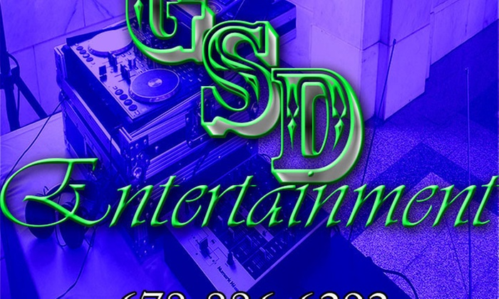 G.s.d. Entertainment - Atlanta: Four Hours of DJ Services and Lighting from G.S.D. Entertainment (45% Off)