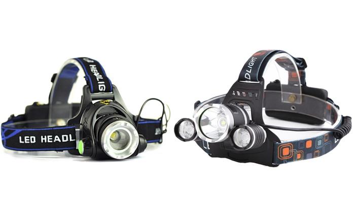 Faretto da testa con LED
