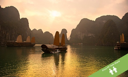 Vietnam: $425 Per Person for a Seven-Day Tour Including an Overnight Halong Bay Cruise with Halong Tours Booking