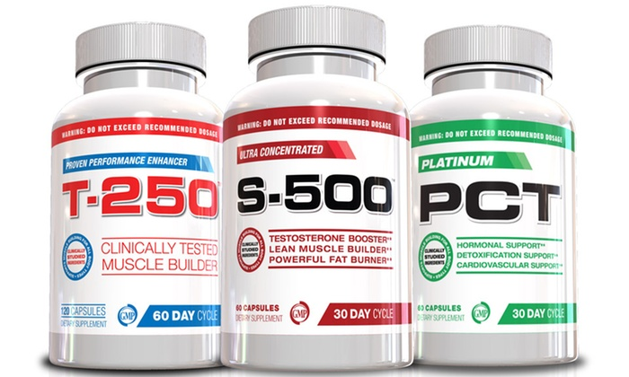 T-250, S-500, and Platinum PCT Muscle-Building Supplements: T-250, S-500, and Platinum PCT Muscle-Building Supplements