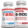 T-250, S-500, and Platinum PCT Muscle-Building Supplements