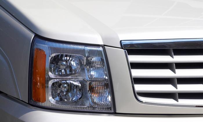Precision Auto Glass Repair - Precision Auto Glass Repair: $39 for Headlight Restoration for One Car at Precision Auto Glass Repair ($80 Value)