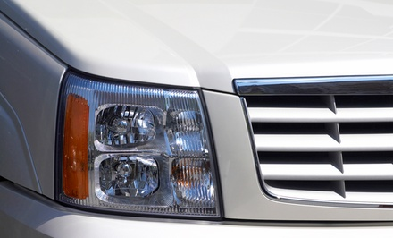 Headlight restoration for one car
