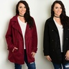 Women's Plus-Size Trench Jacket