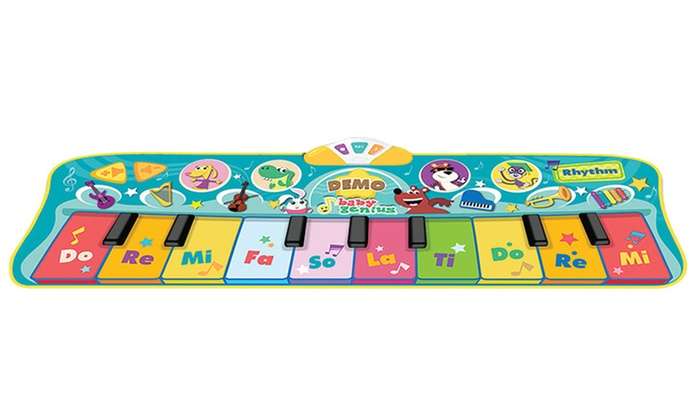 Up To 30 Off On Baby Genius Junior Piano Mat Groupon Goods