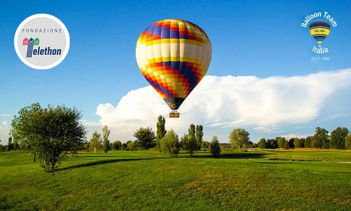 Volo in mongolfiera per una o 2 persone con Balloon Team (sconto fino a 62%). Partenze da 5 regioni italiane