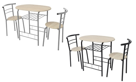 Conjunto de mesa y 2 sillas de cocina