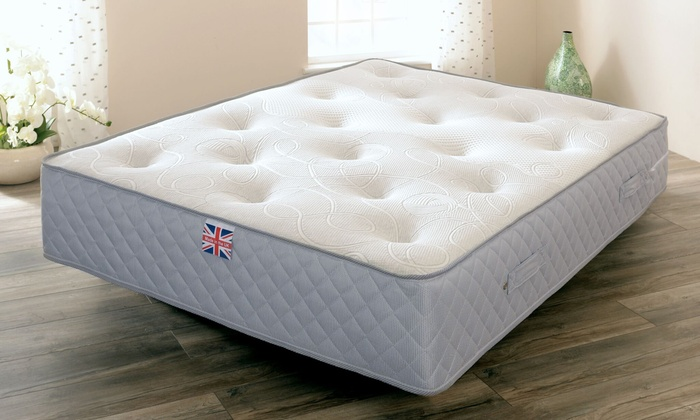 Wool Knit Pocket Sprung Mattress from £120 (87% OFF)