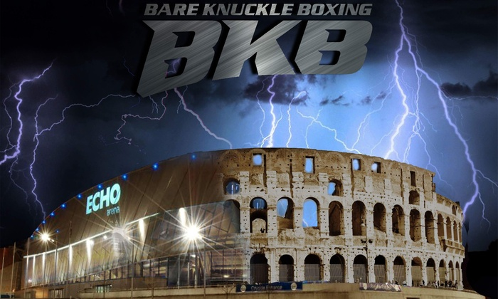 BKB Events - Echo Arena: Bare Knuckle Boxing Event, One or Two Standard Floor Seating Tickets at Echo Arena, Liverpool, 24 March 2018