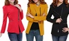FORDER ENTERPRISE LIMITED: Women's Fitted Zip Detail Blazer for €18 With Free Delivery