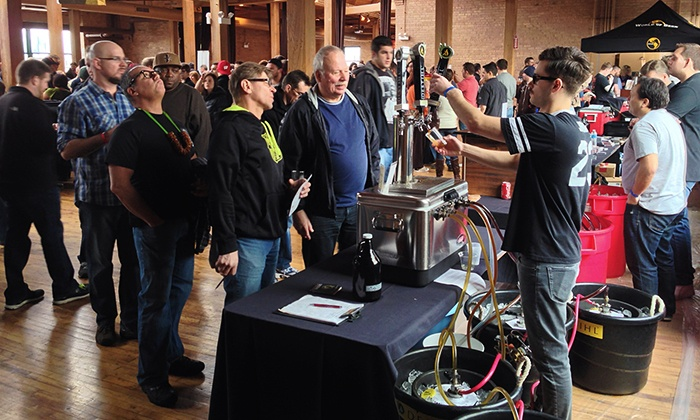 Beer Festival - Private Studio - Floyd A. Davis IV: Windy City Brewhaha Beer Festival at Lacuna Artist Loft on Saturday, March 7 (Up to 22% Off)