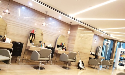 Blow Dry with Optional Cut with Stylist or Style Director at Tony & Billy Hair Studio, Rixos JBR (Up to 57% Off)