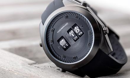 Reloj Morphic con correa Drum-Roll serie M76