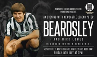 An Evening with Peter Beardsley on 14 July (Up to 32% Off)