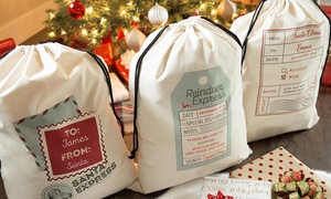 Up to 87% Off Personalized Jumbo Santa Gift Bag from Qualtry at Qualtry, plus 6.0% Cash Back from Ebates.