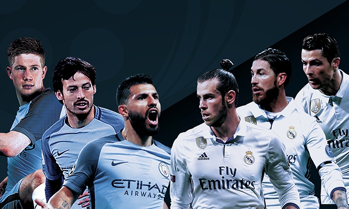 Real Madrid Vs Manchester City International Champions Cup