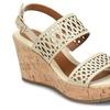 EuroSoft Indira Leather Wedge Sandals (Size 6)