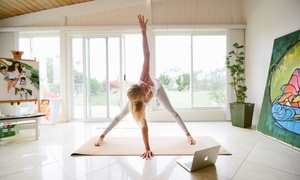 Anaadi Yoga: Yoga for Beginners or Vibrant Summer Online Course from Anaadi Yoga (Up to 90% Off)