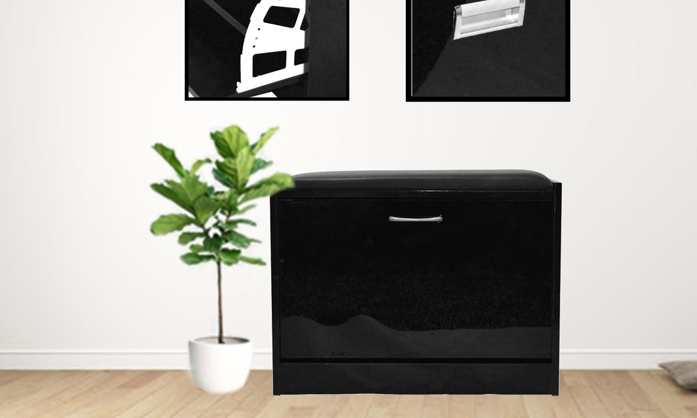 Ottoman Shoe Cabinet from £39.98 (55% OFF)