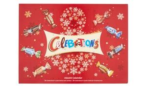 Calendrier de l'Avent 230 g Celebrations
