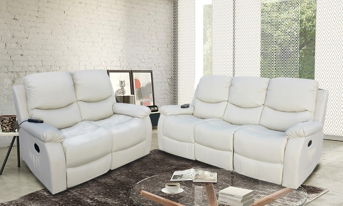 eco de massage sofa eco 8200 groupon goods. Black Bedroom Furniture Sets. Home Design Ideas