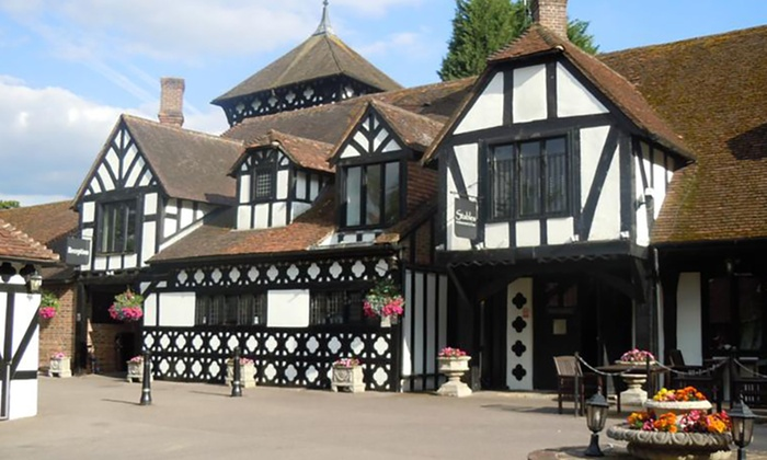 Hever Hotel - Kent: Kent: 1 or 2 Nights for Two with Breakfast and Option for Two-Course Dinner and Valentine's Stay at Hever Hotel