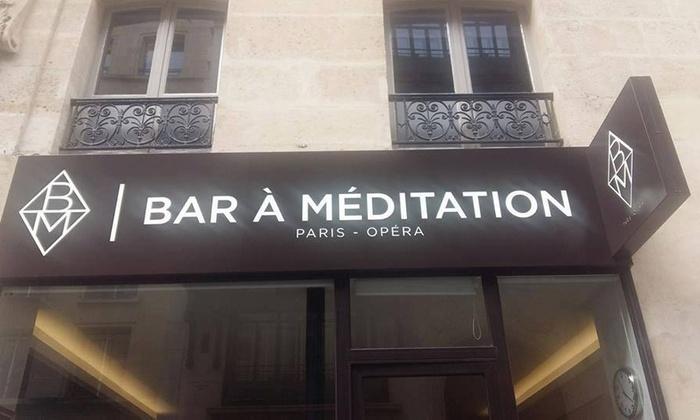 Bar à Méditation - Paris: 1, 3 ou 5 séances guidées de méditation de pleine conscience dès 13 € au Bar à Méditation