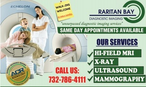 Raritan Bay Diagnostic Imaging: Up to 88% Off MRI at Raritan Bay Diagnostic Imaging