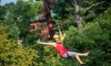 Up to 24% Off Zipline Tour at Wilderness Canyon Zipline Tour