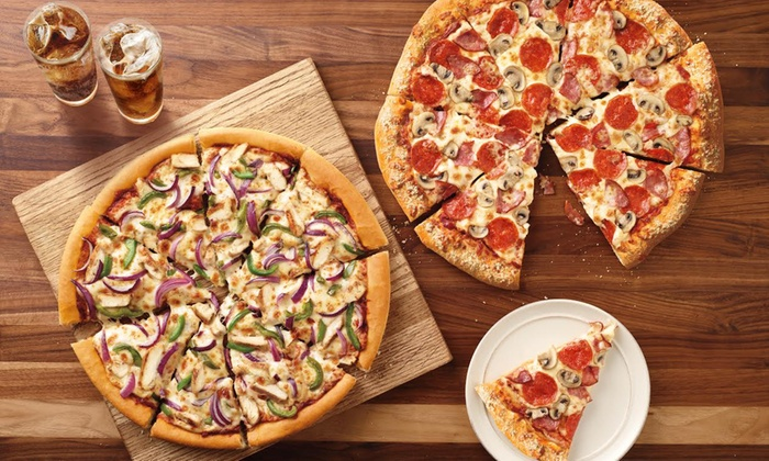 Pizza at Pizza Hut (Up to 38% Off). Six Options Available.