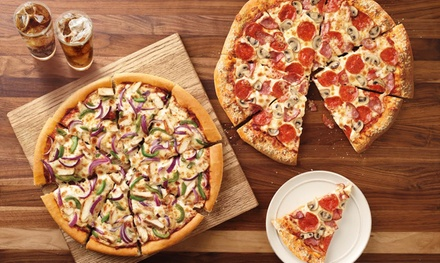 Pizza at Pizza Hut (Up to 40% Off)