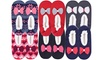 Women's Sherpa Lined Thick Cozy Slippers (3-Pairs)