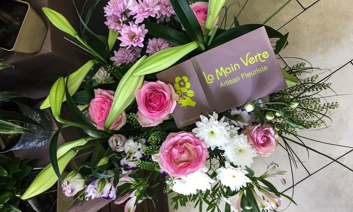 Orchidée, roses ou un bouquet aux fleurs de saison dès 19,99 € chez La Main Verte - Fleuriste