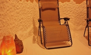 The Salt Studio: 45-Minute Salt Therapy Sessions at The Salt Studio (Up to 56% Off)